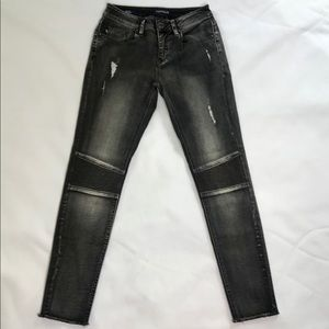 Vigoss Marley Super Skinny Distress Jeans Faded